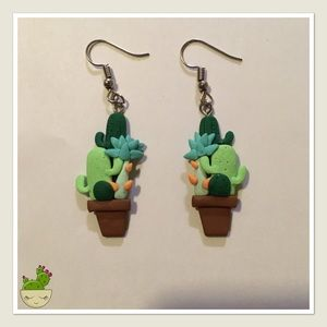 Cactus Earrings! 🌵🌵🌵